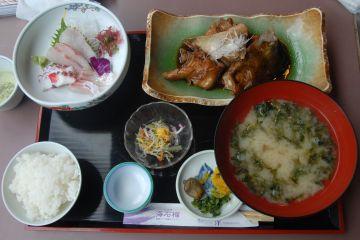海石榴定食
