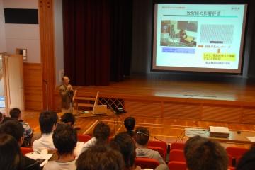 かぐやHDTVカメラ開発の講演